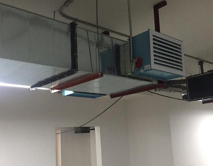 镀锌风管厂家施工
