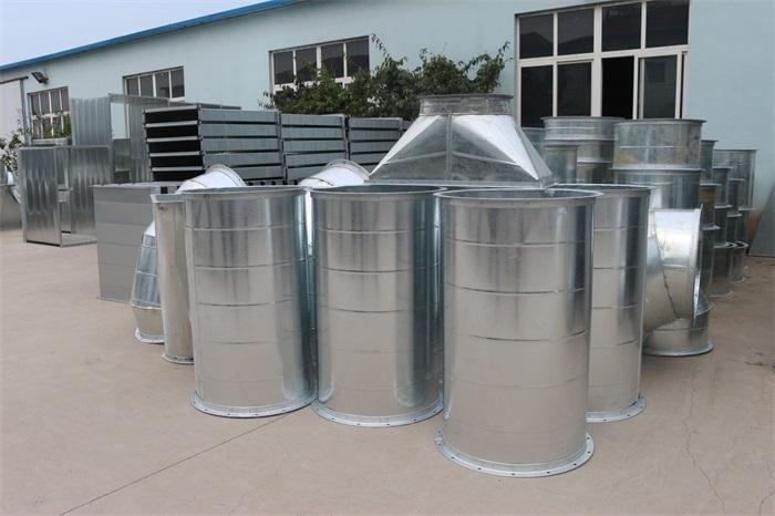 生产厂家镀锌风管阻燃特性更为明显