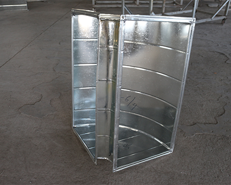 防止镀锌风管震动和噪音的方法(一)